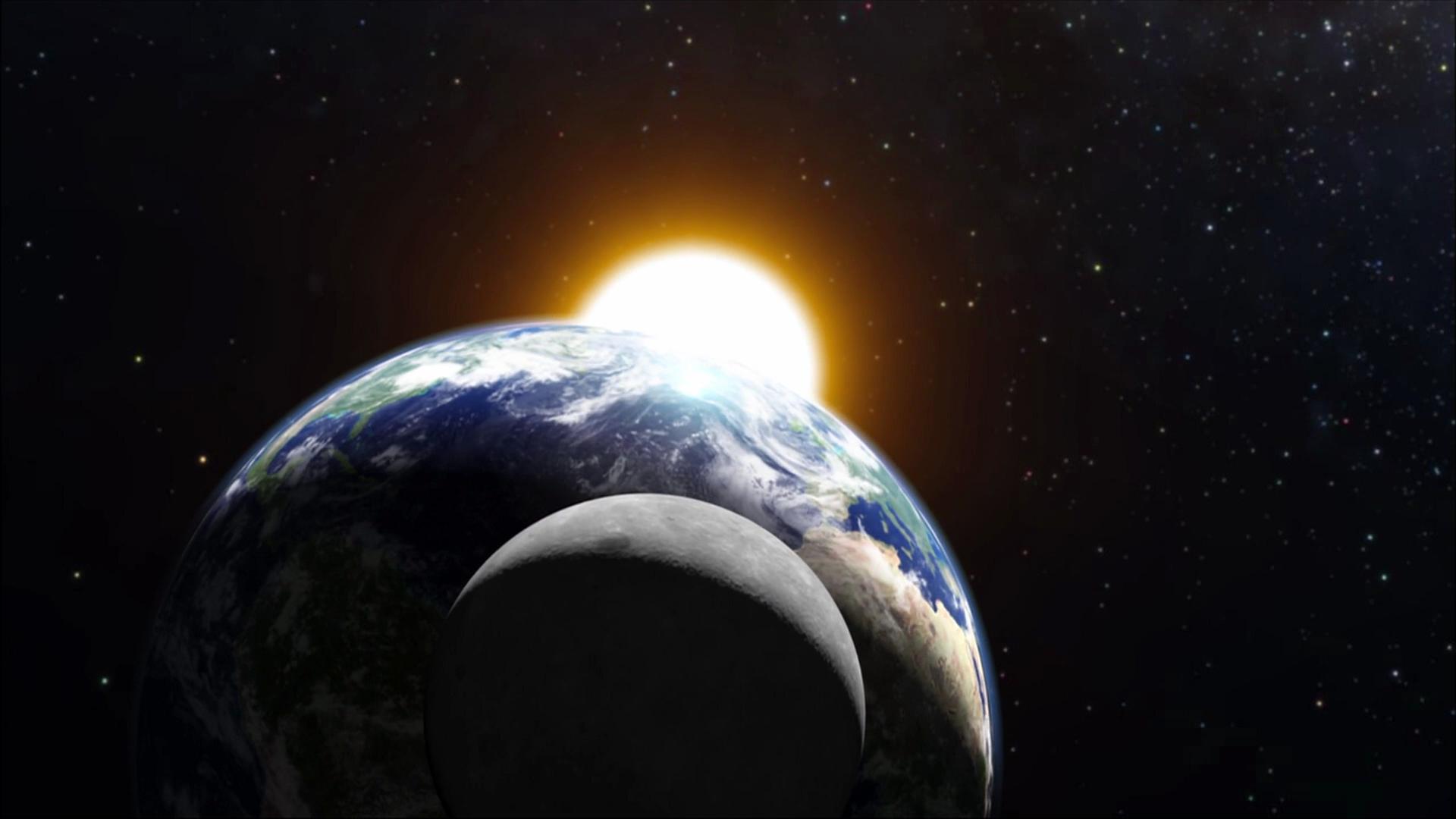 sun from moon